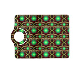 Pattern Background Bright Brown Kindle Fire Hd (2013) Flip 360 Case by BangZart