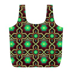 Pattern Background Bright Brown Full Print Recycle Bags (l)  by BangZart