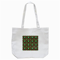 Pattern Background Bright Brown Tote Bag (white) by BangZart