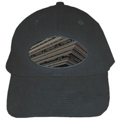 Fractal 3d Construction Industry Black Cap by BangZart