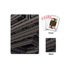 Fractal 3d Construction Industry Playing Cards (mini)  by BangZart