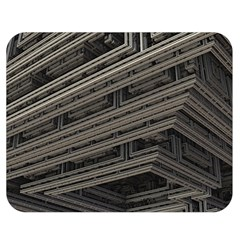 Fractal 3d Construction Industry Double Sided Flano Blanket (medium)  by BangZart
