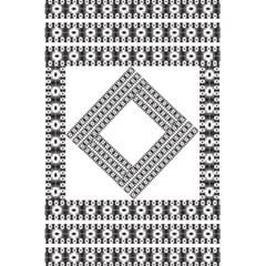 Pattern Background Texture Black 5 5  X 8 5  Notebooks by BangZart