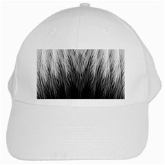 Feather Graphic Design Background White Cap by BangZart