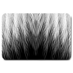 Feather Graphic Design Background Large Doormat  by BangZart