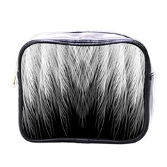 Feather Graphic Design Background Mini Toiletries Bags by BangZart