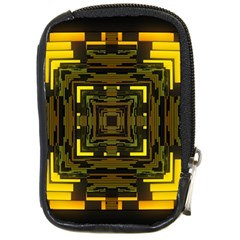Abstract Glow Kaleidoscopic Light Compact Camera Cases by BangZart