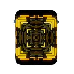 Abstract Glow Kaleidoscopic Light Apple Ipad 2/3/4 Protective Soft Cases by BangZart
