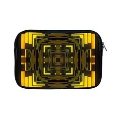 Abstract Glow Kaleidoscopic Light Apple Ipad Mini Zipper Cases by BangZart