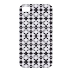 Pattern Background Texture Black Apple Iphone 4/4s Hardshell Case by BangZart
