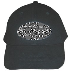 Paisley Pattern Paisley Pattern Black Cap by BangZart