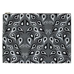 Paisley Pattern Paisley Pattern Cosmetic Bag (xxl)  by BangZart