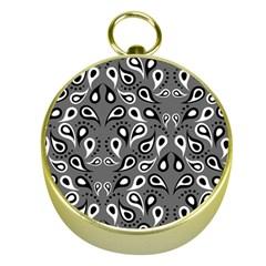 Paisley Pattern Paisley Pattern Gold Compasses by BangZart