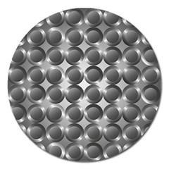 Metal Circle Background Ring Magnet 5  (round) by BangZart