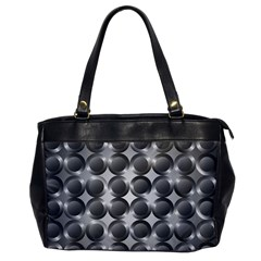 Metal Circle Background Ring Office Handbags by BangZart