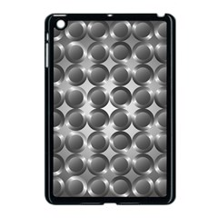 Metal Circle Background Ring Apple Ipad Mini Case (black) by BangZart