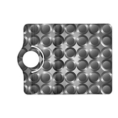 Metal Circle Background Ring Kindle Fire Hd (2013) Flip 360 Case by BangZart