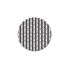 Pattern Background Texture Black Golf Ball Marker (4 Pack) by BangZart