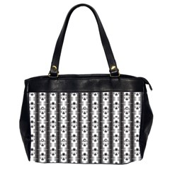Pattern Background Texture Black Office Handbags (2 Sides)  by BangZart
