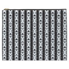 Pattern Background Texture Black Cosmetic Bag (xxxl)  by BangZart