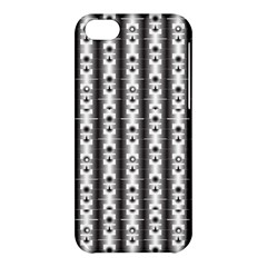 Pattern Background Texture Black Apple Iphone 5c Hardshell Case by BangZart