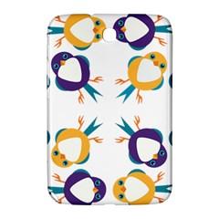 Pattern Circular Birds Samsung Galaxy Note 8 0 N5100 Hardshell Case  by BangZart