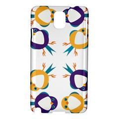 Pattern Circular Birds Samsung Galaxy Note 3 N9005 Hardshell Case