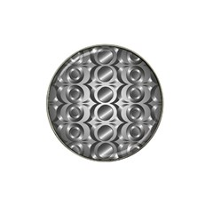 Metal Circle Background Ring Hat Clip Ball Marker (10 Pack)