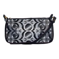 Metal Circle Background Ring Shoulder Clutch Bags by BangZart