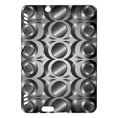 Metal Circle Background Ring Kindle Fire Hdx Hardshell Case