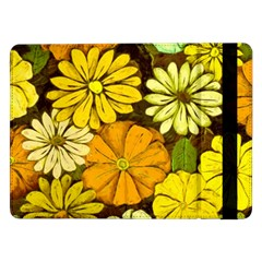 Abstract #417 Samsung Galaxy Tab Pro 12 2  Flip Case by RockettGraphics