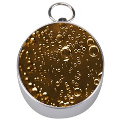 Festive Bubbles Sparkling Wine Champagne Golden Water Drops Silver Compasses by yoursparklingshop