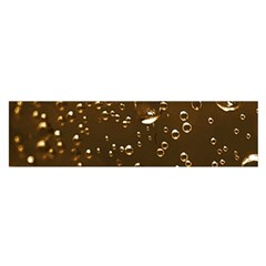 Festive Bubbles Sparkling Wine Champagne Golden Water Drops Satin Scarf (oblong) by yoursparklingshop