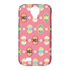 Cute Eggs Pattern Samsung Galaxy S4 Classic Hardshell Case (pc+silicone) by linceazul