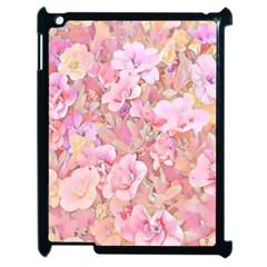 Lovely Floral 36a Apple Ipad 2 Case (black) by MoreColorsinLife
