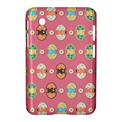 Cute Eggs Pattern Samsung Galaxy Tab 2 (7 ) P3100 Hardshell Case  by linceazul