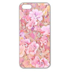 Lovely Floral 36a Apple Seamless Iphone 5 Case (clear) by MoreColorsinLife