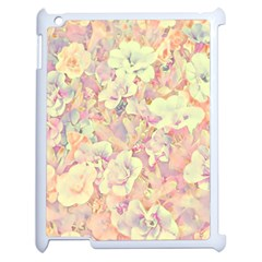 Lovely Floral 36b Apple Ipad 2 Case (white) by MoreColorsinLife
