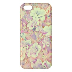Lovely Floral 36b Iphone 5s/ Se Premium Hardshell Case by MoreColorsinLife