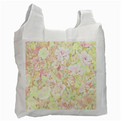 Lovely Floral 36c Recycle Bag (one Side) by MoreColorsinLife