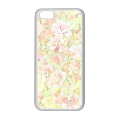 Lovely Floral 36c Apple Iphone 5c Seamless Case (white) by MoreColorsinLife