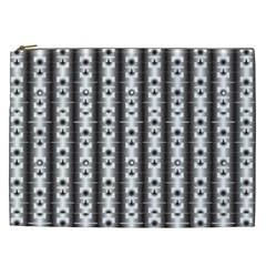 Pattern Background Texture Black Cosmetic Bag (xxl)  by BangZart