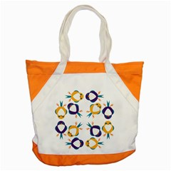 Pattern Circular Birds Accent Tote Bag by BangZart