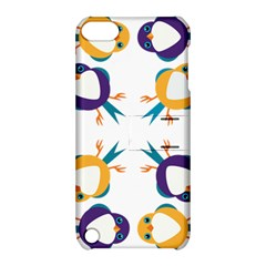 Pattern Circular Birds Apple Ipod Touch 5 Hardshell Case With Stand by BangZart