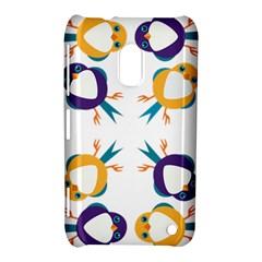 Pattern Circular Birds Nokia Lumia 620 by BangZart