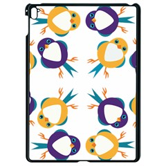 Pattern Circular Birds Apple Ipad Pro 9 7   Black Seamless Case by BangZart