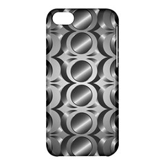 Metal Circle Background Ring Apple Iphone 5c Hardshell Case by BangZart