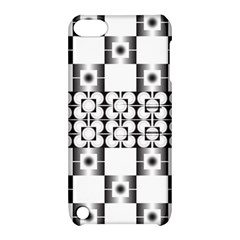 Pattern Background Texture Black Apple Ipod Touch 5 Hardshell Case With Stand by BangZart
