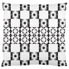 Pattern Background Texture Black Standard Flano Cushion Case (two Sides) by BangZart