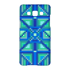 Grid Geometric Pattern Colorful Samsung Galaxy A5 Hardshell Case  by BangZart